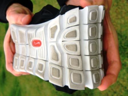Flexibilität des Nike Free  (c) Laufschuhkauf.de