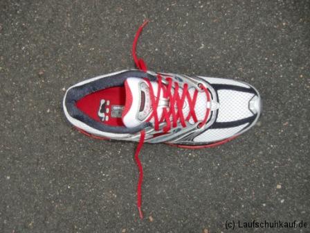 Marathonschnürung Schritt 1a