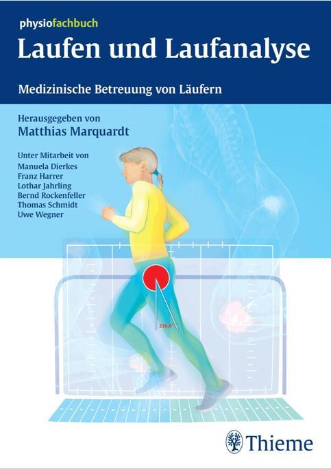 """Cover """"Laufen und Laufanalyse""""  (c) Thieme"""