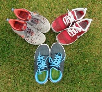 Generationen des Nike Free 5.0