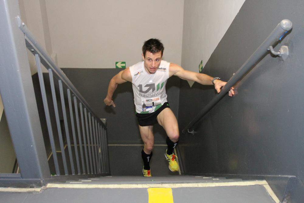 Thomas Dold beim Treppenlaufen (c) Thomas Dold