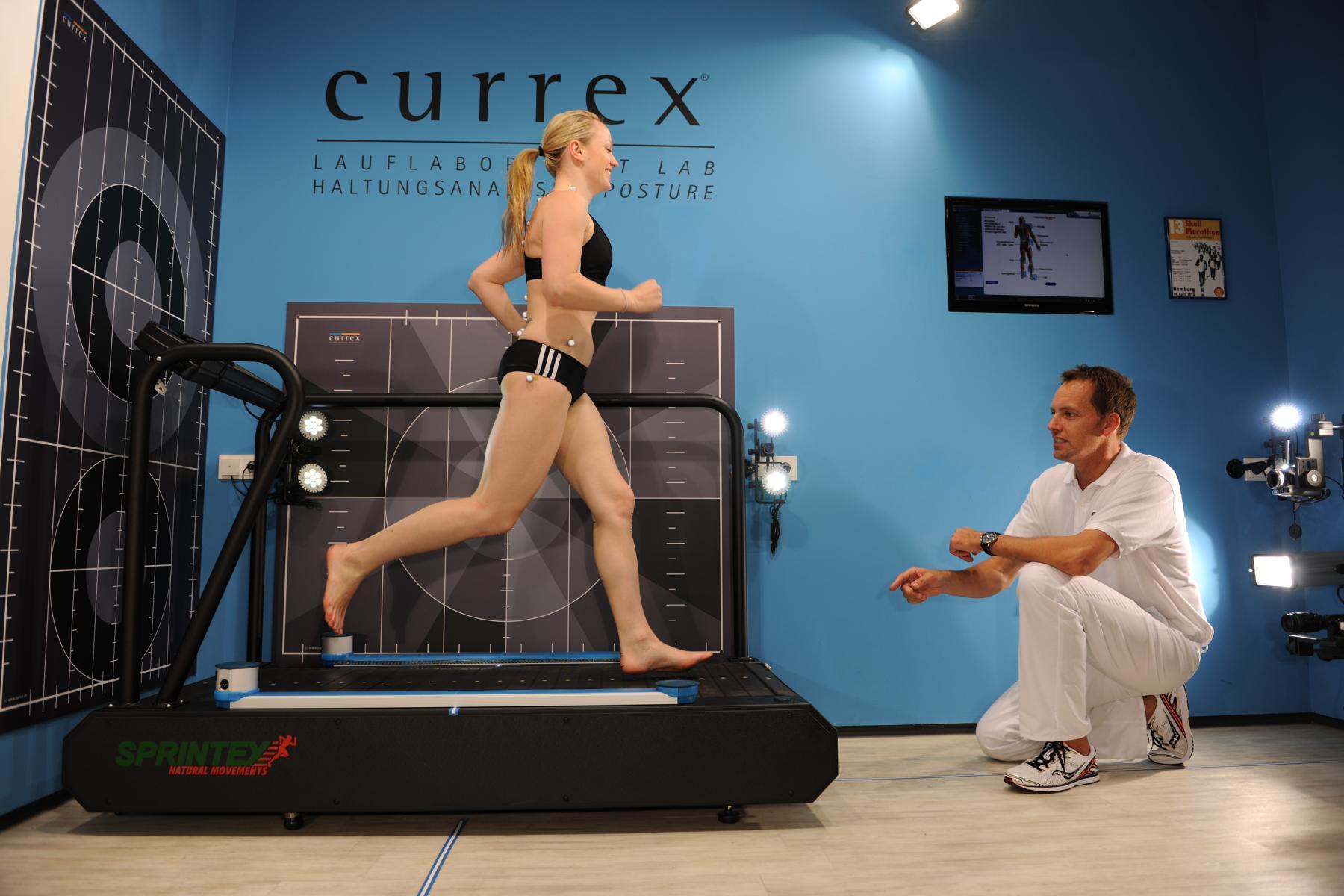 professionelle Bewegungsanalyse  (c) currex