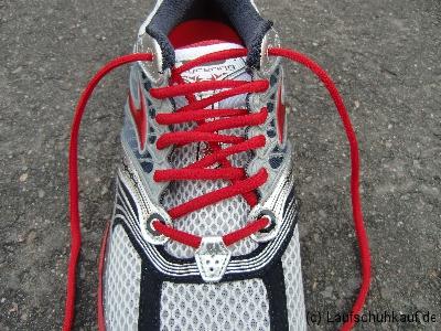 Schnürung schmerzende Zehen/Vorfußbereich Schritt 4c