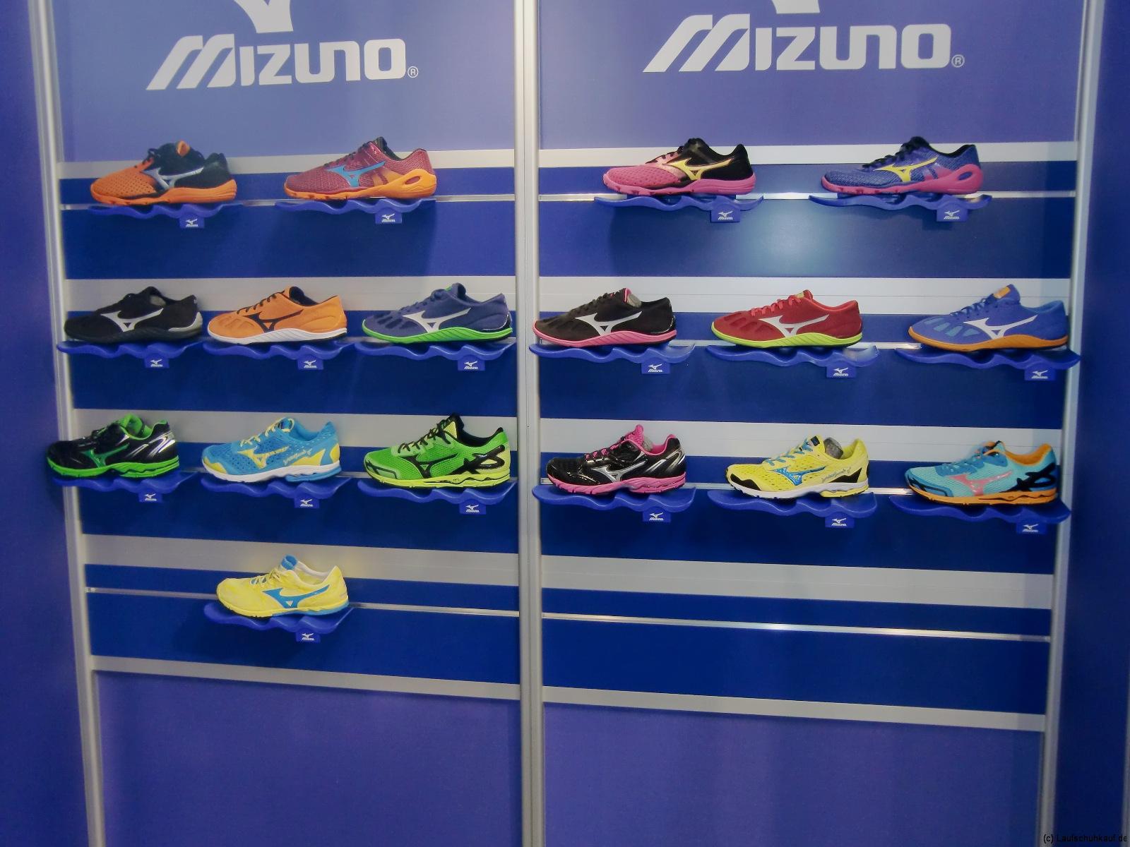 Mizuno Neuheiten FS 2013 - leichte Schuhe