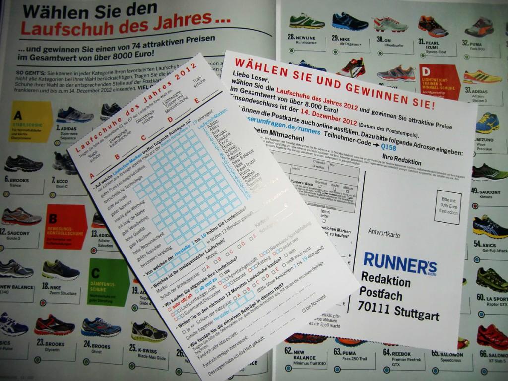 Runners World Leserwahl 2012 (c) Laufschuhkauf.de