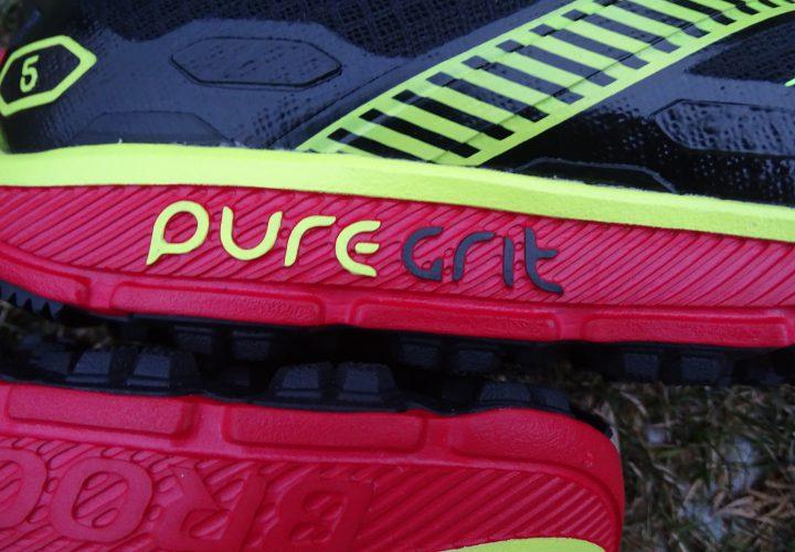 Laufschuhtest Brooks Pure Grit 5