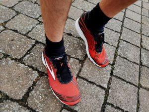 Laufschuhtest Brooks Asteria Men rot/schwarz (c) Laufschuhkauf.de