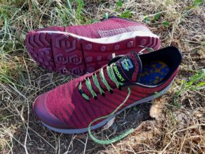 Brooks Pure Grit 8 Men bordeaux (c) Laufschuhkauf.de