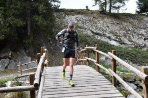 Denis Wischniewski auf dem Trail (c) Denis Wischniewski